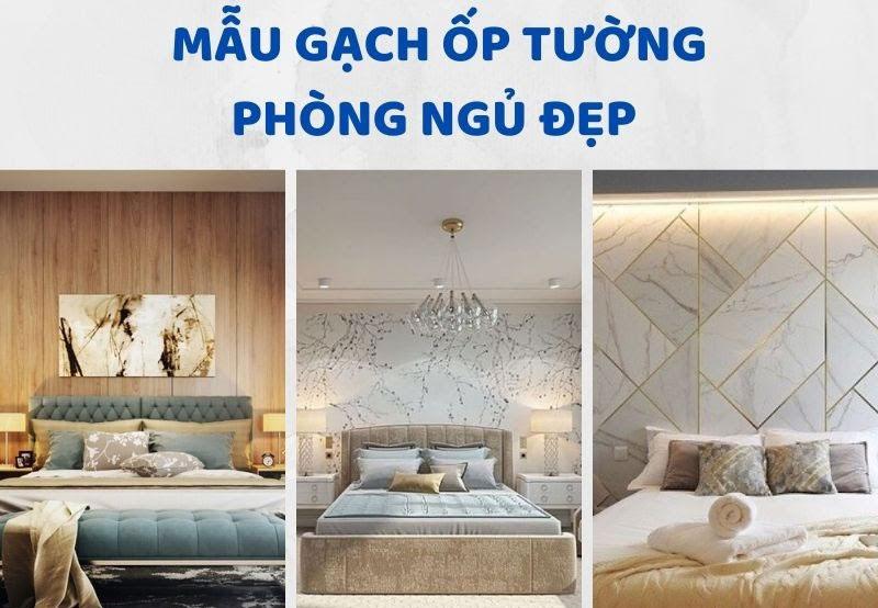 Có nên sử dụng gạch ốp tường phòng ngủ không?