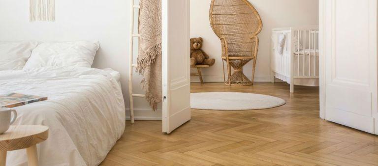Gạch vân gỗ là sự lựa chọn không tồi cho phòng khách đẹp