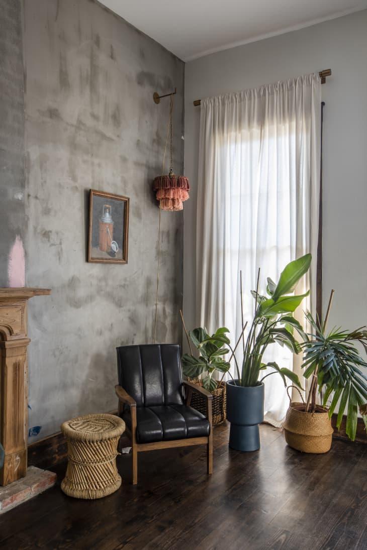 Các yếu tố tự nhiên trong thiết kế phòng khách