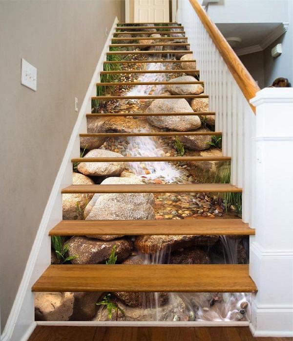 101 mẫu gạch lát cầu thang vân gỗ, vân đá,...đẹp xuất sắc không thể bỏ qua 25