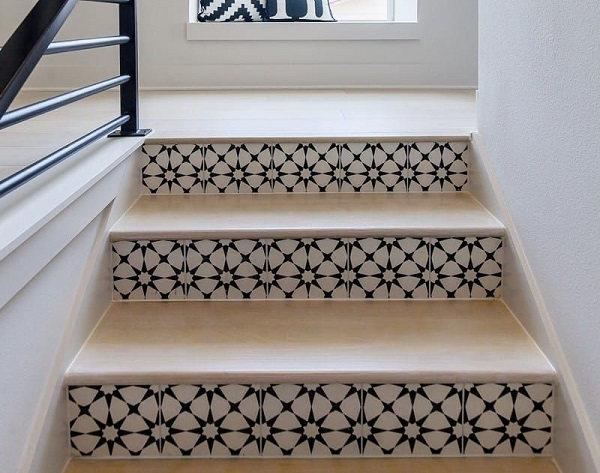 101 mẫu gạch lát cầu thang vân gỗ, vân đá,...đẹp xuất sắc không thể bỏ qua 29
