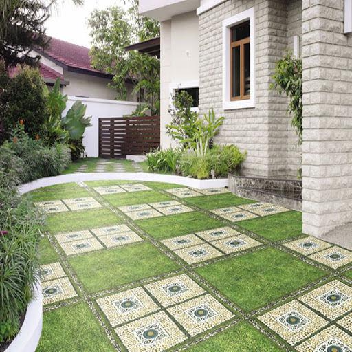 25+ mẫu gạch lát sân vườn chống trơn đẹp - giá rẻ nhất 1