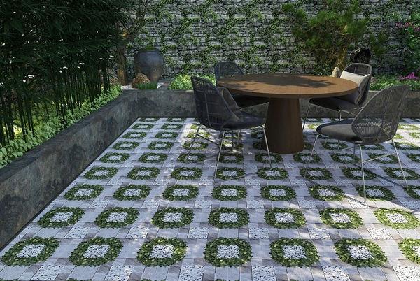 25+ mẫu gạch lát sân vườn chống trơn đẹp - giá rẻ nhất 15
