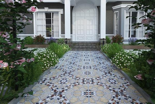 25+ mẫu gạch lát sân vườn chống trơn đẹp - giá rẻ nhất 18