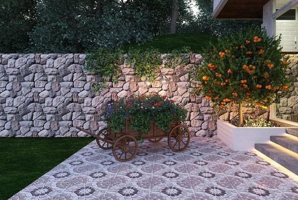 25+ mẫu gạch lát sân vườn chống trơn đẹp - giá rẻ nhất 19