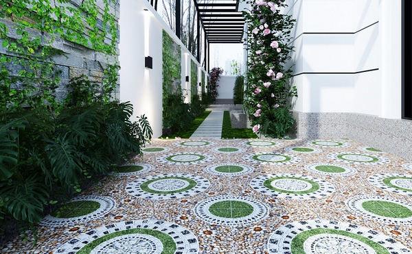 25+ mẫu gạch lát sân vườn chống trơn đẹp - giá rẻ nhất 4