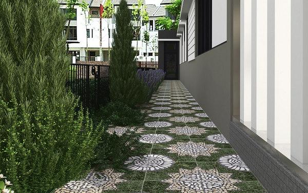 25+ mẫu gạch lát sân vườn chống trơn đẹp - giá rẻ nhất 5