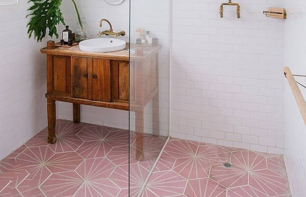 Gạch lát nền màu hồng hợp mệnh gì? TOP mẫu đẹp nên chọn năm 2021 12