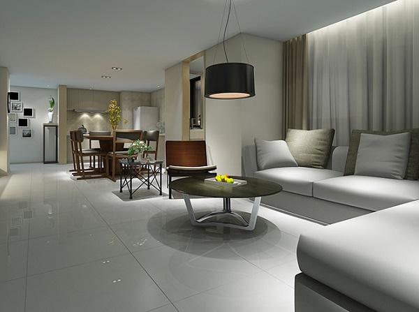 Top mẫu gạch lát nền phòng khách nhà nhỏ đẹp XUẤT SẮC kèm cách chọn 6