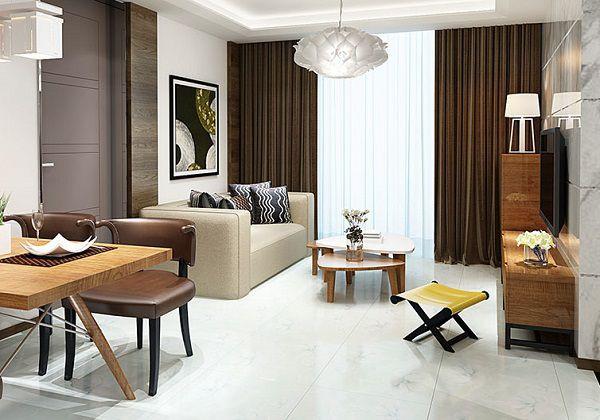 Top mẫu gạch lát nền phòng khách nhà nhỏ đẹp XUẤT SẮC kèm cách chọn 9