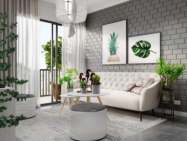 [HOT] Cách phối màu gạch phòng khách đẹp - sang nhất 2021 3