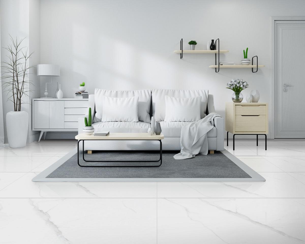 gạch ốp lát cho nhà tối giản càng đơn giản càng đẹp