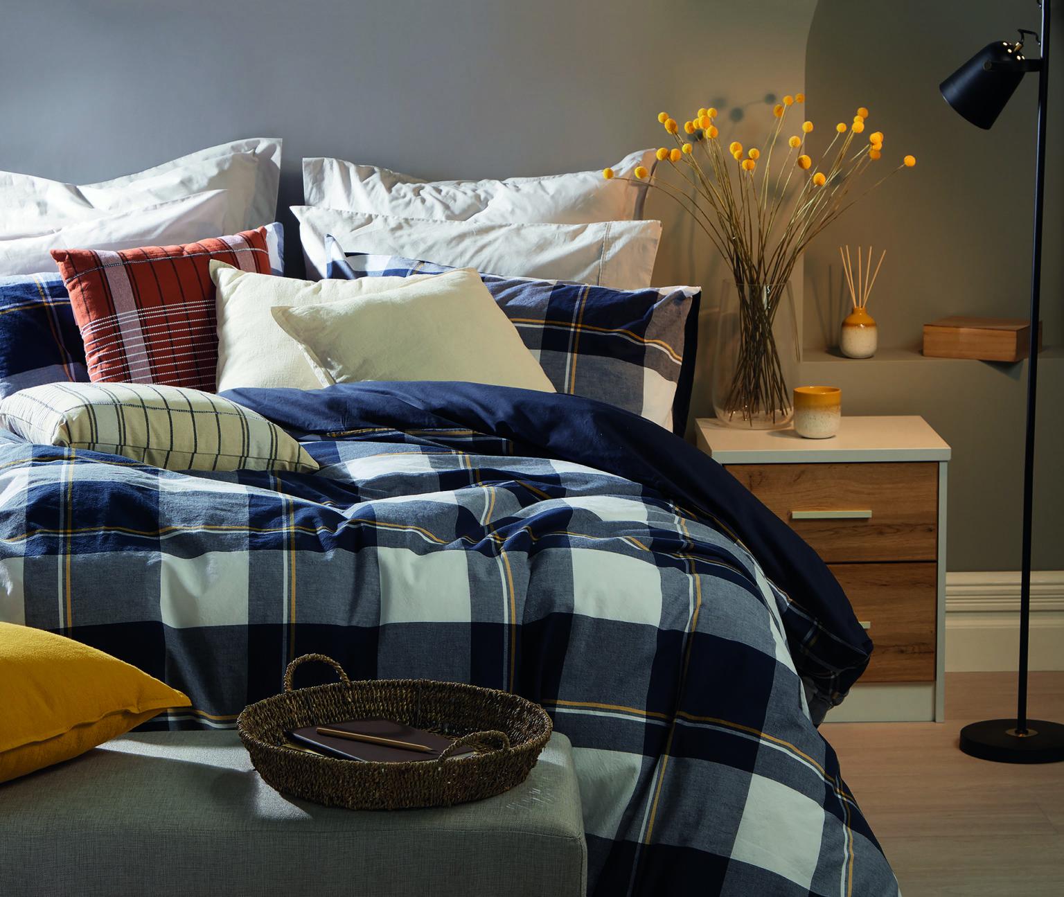 Phòng ngủ ấm hơn trong mùa đông
