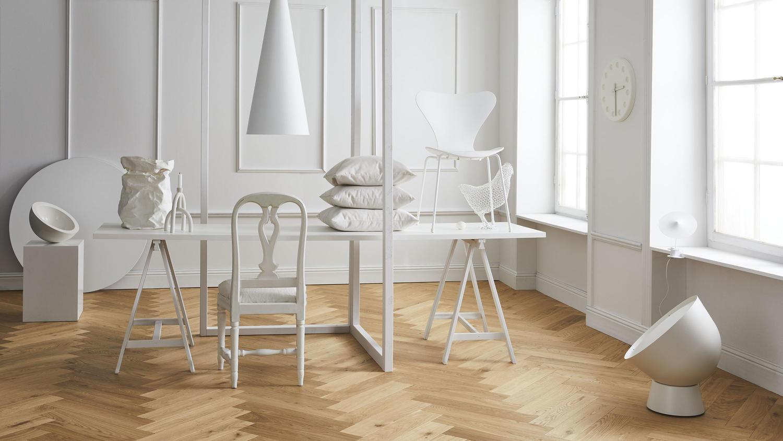 Màu đơn sắc phong cách thiết kế nhà tối giản