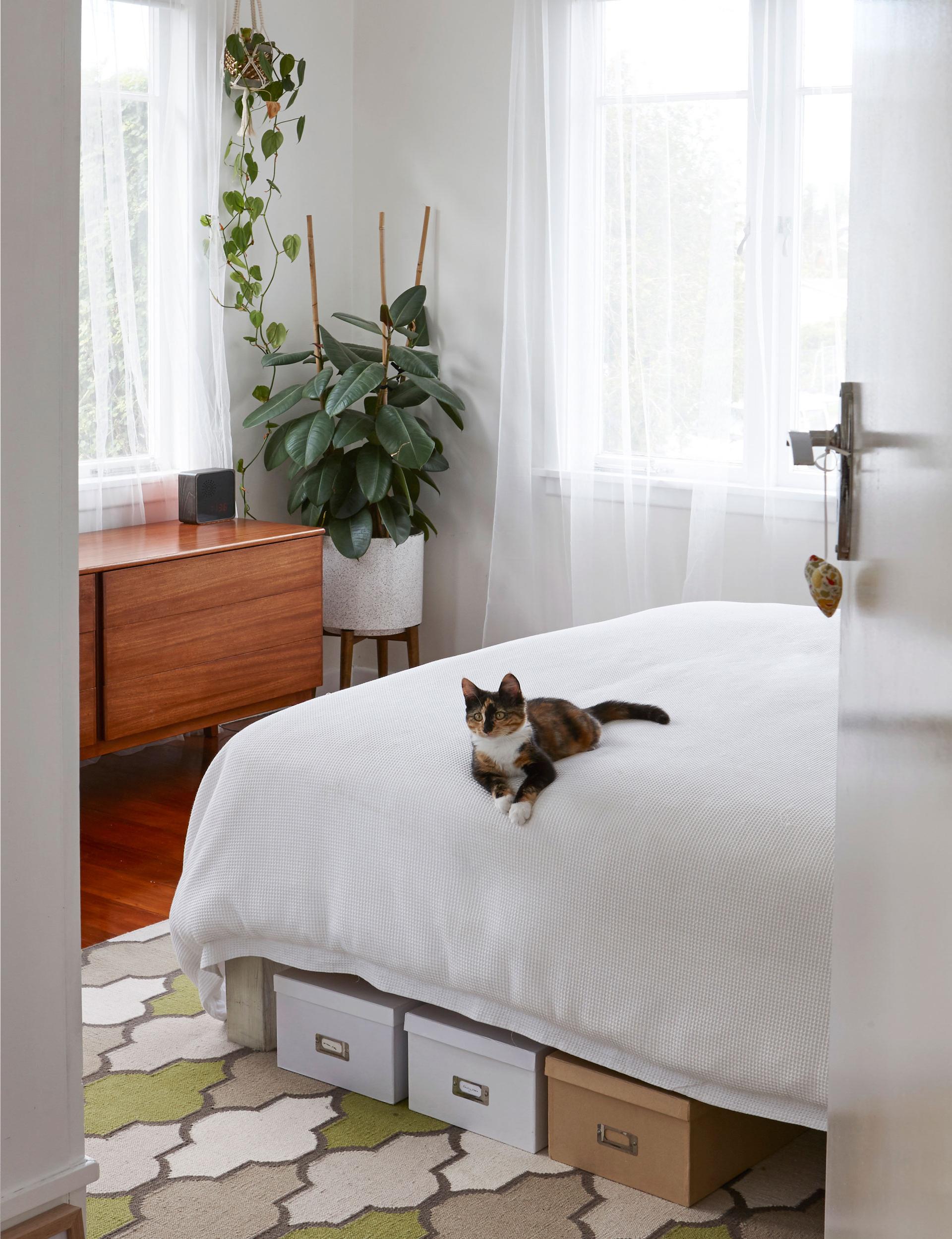 trang trí phòng ngủ nhỏ rộng rãi hơn