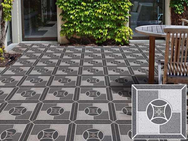 20+ mẫu gạch lát sân vườn màu xám đẹp - chống trơn tốt nhất 2021 3