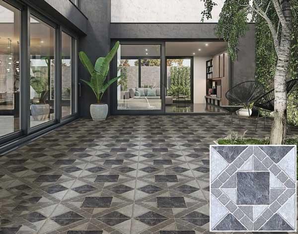 20+ mẫu gạch lát sân vườn màu xám đẹp - chống trơn tốt nhất 2021 7