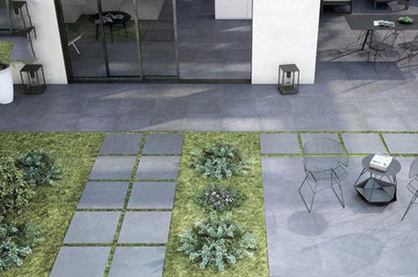 20+ mẫu gạch lát sân vườn màu xám đẹp - chống trơn tốt nhất 2021