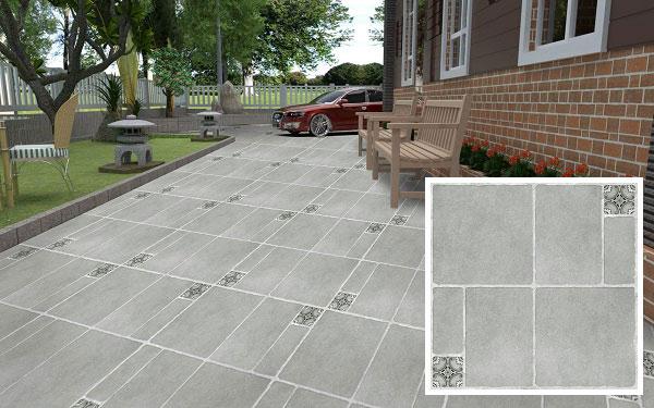 20+ mẫu gạch lát sân vườn màu xám đẹp - chống trơn tốt nhất 2021 9