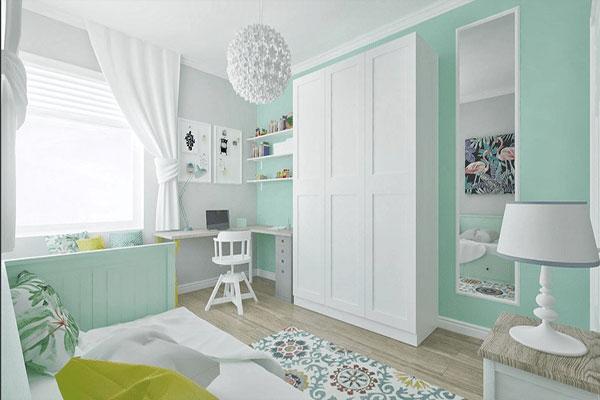 Ý tưởng trang trí tường phòng ngủ ấn tượng, tiết kiệm chi phí 1