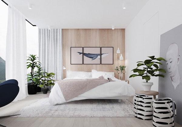 Ý tưởng trang trí tường phòng ngủ ấn tượng, tiết kiệm chi phí 3