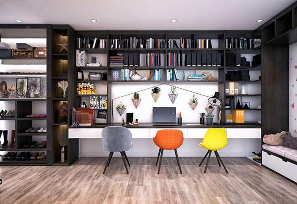 10++ thiết kế phòng làm việc giúp bạn TẬP TRUNG HƠN 1