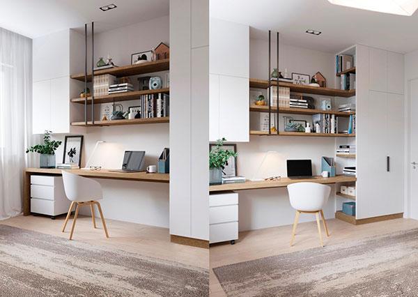 10++ thiết kế phòng làm việc giúp bạn TẬP TRUNG HƠN 12