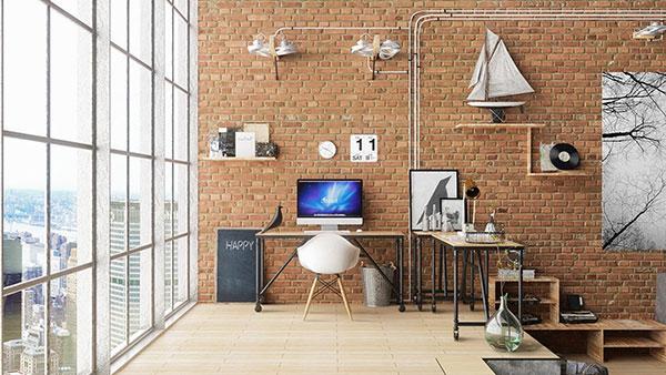 10++ thiết kế phòng làm việc giúp bạn TẬP TRUNG HƠN 9