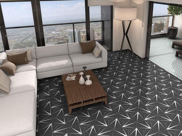 50+ mẫu gạch lục giác đen đẹp xuất sắc nên chọn 2021 2
