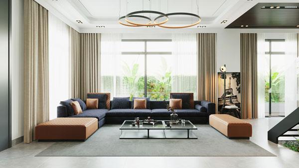 Điểm danh 3 mẫu phòng khách hiện đại XU HƯỚNG MỚI 2021 2